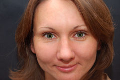 όμορφες νεολαίες γυναικών ματιών Στοκ φωτογραφία με δικαίωμα ελεύθερης χρήσης