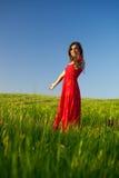 όμορφες νεολαίες γυναικών Στοκ εικόνα με δικαίωμα ελεύθερης χρήσης