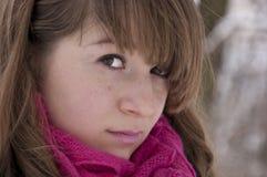 όμορφες νεολαίες γυνα&iot Στοκ Εικόνα