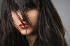 όμορφες νεολαίες γυνα&iot Στοκ Εικόνες