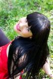 όμορφες νεολαίες γυνα&iota Στοκ Φωτογραφίες