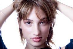 όμορφες νεολαίες γυναι στοκ εικόνα με δικαίωμα ελεύθερης χρήσης