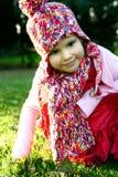 όμορφες νεολαίες κοριτσιών ιματισμού φθινοπώρου Στοκ εικόνες με δικαίωμα ελεύθερης χρήσης