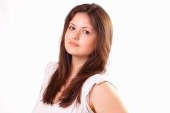 όμορφες νεολαίες κοριτσιών Στοκ εικόνα με δικαίωμα ελεύθερης χρήσης