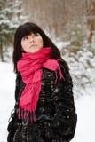 όμορφες νεολαίες πορτρέτου κοριτσιών Στοκ εικόνα με δικαίωμα ελεύθερης χρήσης