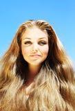 όμορφες νεολαίες προσώπ&o Στοκ φωτογραφία με δικαίωμα ελεύθερης χρήσης