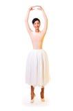 όμορφες νεολαίες ballerina Στοκ Εικόνες