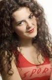 όμορφες νεολαίες brunette Στοκ φωτογραφίες με δικαίωμα ελεύθερης χρήσης