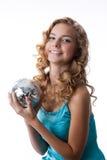 όμορφες νεολαίες disco blondie σφ&alpha Στοκ Φωτογραφία