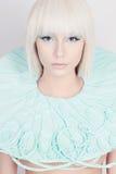 όμορφες νεολαίες γυναικών Μελλοντικό κορίτσι Στοκ Φωτογραφίες