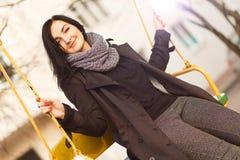 όμορφες νεολαίες γυναικών πορτρέτου Στοκ φωτογραφίες με δικαίωμα ελεύθερης χρήσης