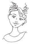 όμορφες νεολαίες γυναικών Στοκ φωτογραφία με δικαίωμα ελεύθερης χρήσης