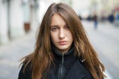 όμορφες νεολαίες γυνα&iota Στοκ Εικόνες