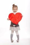 όμορφες νεολαίες καρδιών κοριτσιών στοκ φωτογραφίες με δικαίωμα ελεύθερης χρήσης