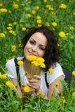 όμορφες νεολαίες κοριτσιών Στοκ φωτογραφία με δικαίωμα ελεύθερης χρήσης