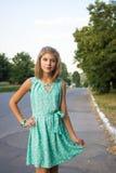 όμορφες νεολαίες κοριτσιών Στοκ Εικόνα