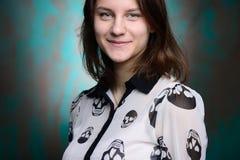όμορφες νεολαίες στούντ& Στοκ εικόνα με δικαίωμα ελεύθερης χρήσης