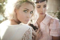όμορφες νύμφες λουλου&del Στοκ Φωτογραφίες