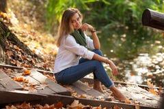όμορφες ξανθές νεολαίες Στοκ φωτογραφίες με δικαίωμα ελεύθερης χρήσης