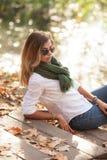 όμορφες ξανθές νεολαίες Στοκ Φωτογραφίες
