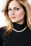 όμορφες ξανθές προκλητικ Στοκ Εικόνα