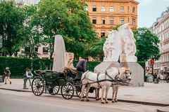 Όμορφες οδοί της Βιέννης στοκ φωτογραφία με δικαίωμα ελεύθερης χρήσης