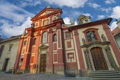 όμορφες παλαιές οδοί της Πράγας στοκ φωτογραφίες με δικαίωμα ελεύθερης χρήσης