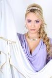 όμορφες σγουρές νεολαί&ep Στοκ Φωτογραφίες