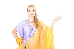 όμορφες σγουρές νεολαί&ep Στοκ φωτογραφία με δικαίωμα ελεύθερης χρήσης