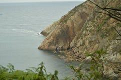 Όμορφες σπηλιές στην παραλία της σιωπής στοκ φωτογραφία με δικαίωμα ελεύθερης χρήσης