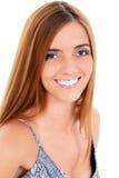 όμορφες στενές επάνω νεολαίες γυναικών Στοκ Εικόνα