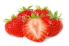όμορφες φράουλες στοκ εικόνες