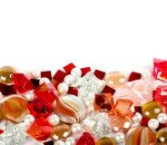 όμορφες φωτεινές ζωηρόχρωμες πέτρες στοκ εικόνες