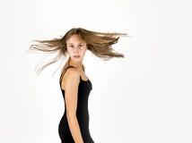 όμορφες χαμογελώντας νεολαίες κοριτσιών Στοκ Εικόνα
