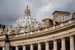 Όμορφες arhitectural λεπτομέρειες από τη βασιλική Αγίου Peter, Ιταλία, Ρώμη Στοκ φωτογραφίες με δικαίωμα ελεύθερης χρήσης