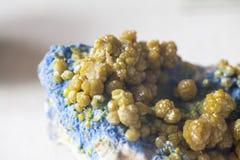 Όμορφες cristals, μεταλλεύματα και πέτρες στοκ εικόνες με δικαίωμα ελεύθερης χρήσης