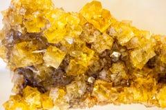 Όμορφες cristals, μεταλλεύματα και πέτρες στοκ εικόνα με δικαίωμα ελεύθερης χρήσης