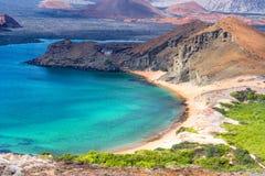 Όμορφη άποψη ακτών Galapagos Στοκ φωτογραφίες με δικαίωμα ελεύθερης χρήσης