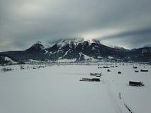 Όμορφη άποψη κοντά σε Lermoos, Αυστρία Στοκ Φωτογραφίες