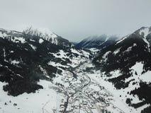 Όμορφη άποψη κοντά σε Lermoos, Αυστρία στοκ φωτογραφία με δικαίωμα ελεύθερης χρήσης