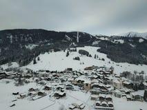 Όμορφη άποψη κοντά σε Lermoos, Αυστρία στοκ φωτογραφίες με δικαίωμα ελεύθερης χρήσης