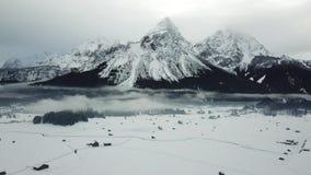 Όμορφη άποψη κοντά σε Lermoos, Αυστρία φιλμ μικρού μήκους