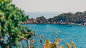 Όμορφη άποψη κόλπων από την άποψη Στοκ εικόνα με δικαίωμα ελεύθερης χρήσης
