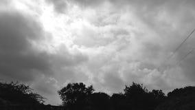 Όμορφη άποψη ουρανού Στοκ εικόνα με δικαίωμα ελεύθερης χρήσης