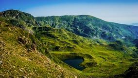 Όμορφη άποψη πανοράματος βουνών, βουνό Rila, Βουλγαρία Στοκ Εικόνες