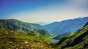 Όμορφη άποψη πανοράματος βουνών, βουνό Rila, Βουλγαρία Στοκ φωτογραφίες με δικαίωμα ελεύθερης χρήσης