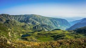 Όμορφη άποψη πανοράματος βουνών, βουνό Rila, Βουλγαρία Στοκ εικόνα με δικαίωμα ελεύθερης χρήσης