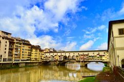 Όμορφη άποψη πόλεων της Φλωρεντίας, Ιταλία Στοκ φωτογραφίες με δικαίωμα ελεύθερης χρήσης