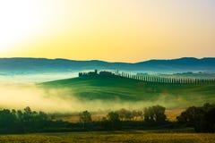 Όμορφη άποψη στην Τοσκάνη στοκ εικόνες με δικαίωμα ελεύθερης χρήσης