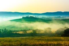 Όμορφη άποψη στην Τοσκάνη στοκ φωτογραφία με δικαίωμα ελεύθερης χρήσης